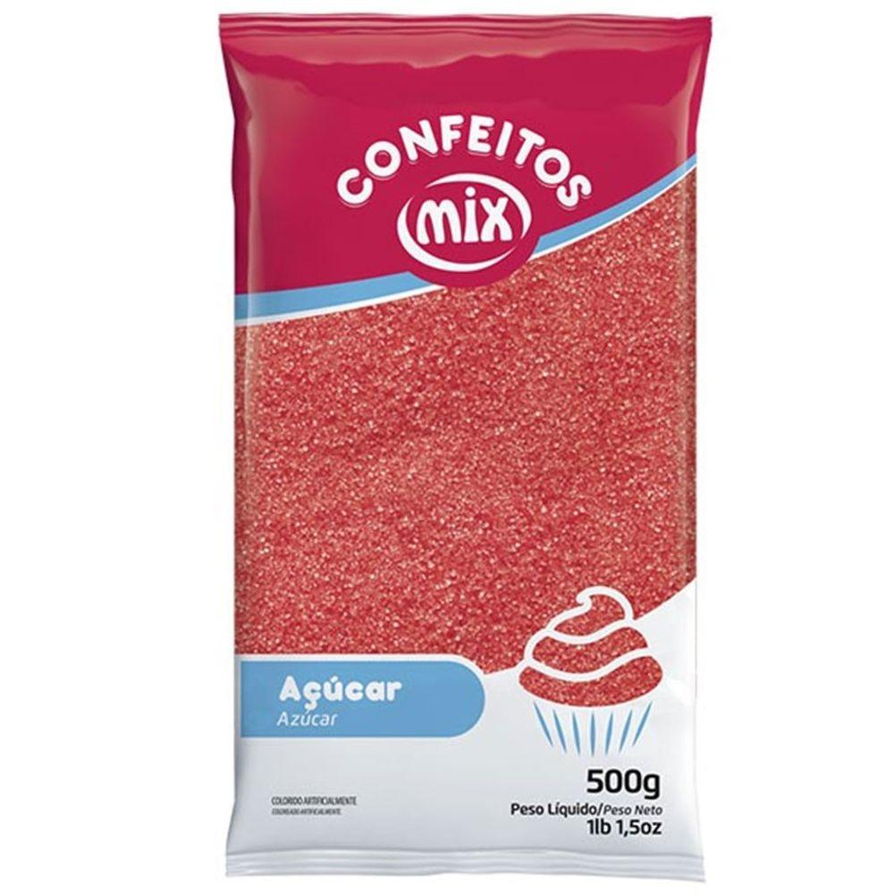 Açúcar Cristal Vermelho 500g - Mix