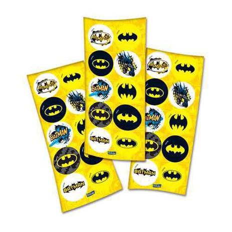 Adesivo Decorativo Batman Geek c/30 - Festcolor