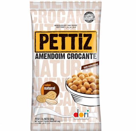 Amendoim Crocante PETTIZ Natural 500g - Dori