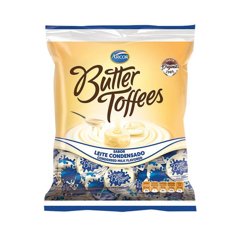 Bala Butter Toffees Leite Condensado 500g - Arcor