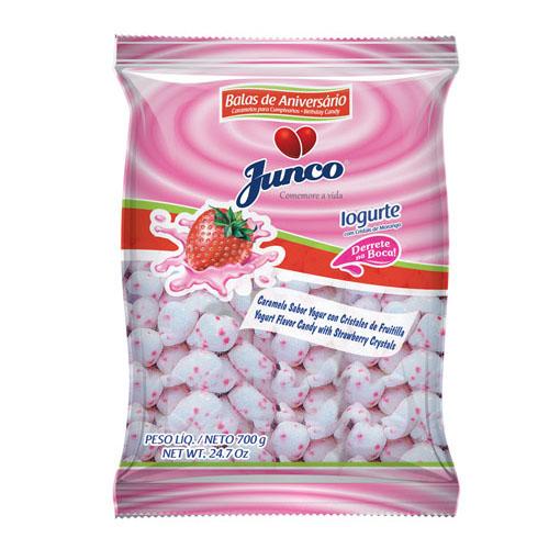 Bala Coco Iogurte 700g - Junco