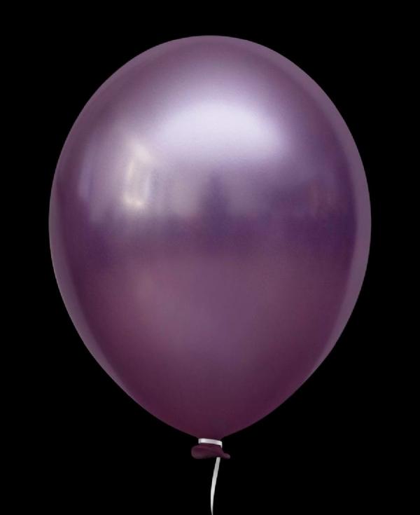 Balão Alumínio Nº5 Lilás c/25 - Happy Day