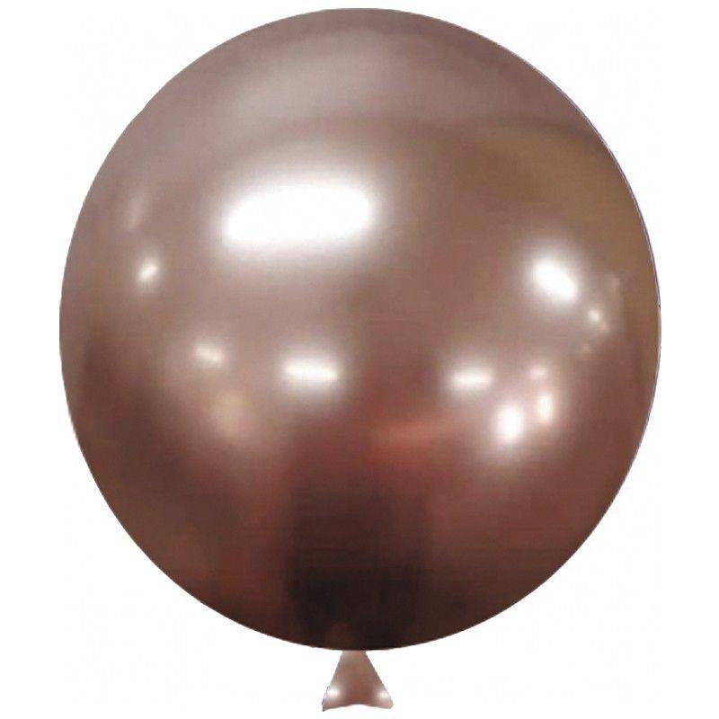 Balão Alumínio Nº5 Rose Gold c/25 - Happy Day