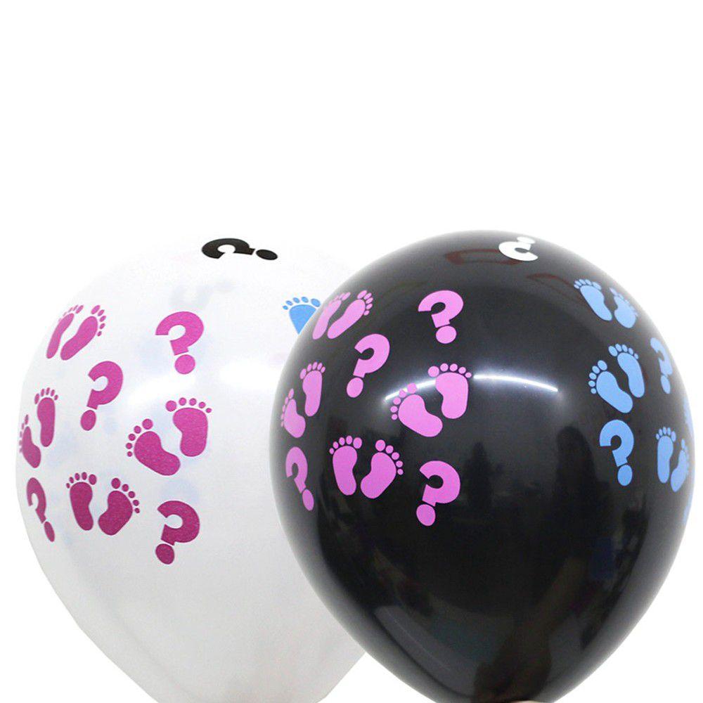 Balão Nº11 Chá Revelação Sortido c/25 - Happy Day