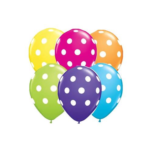 Balão Nº11 Confete Sortido c/25 - Happy Day