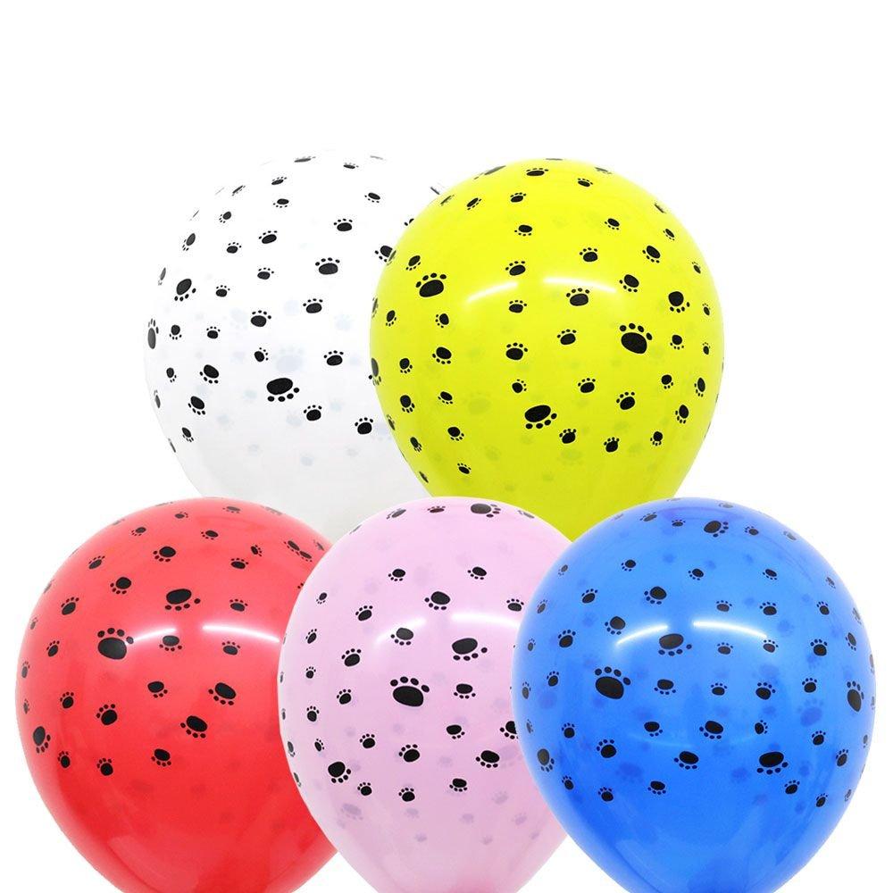 Balão Nº11 Patas de Cachorro Sortido c/25 - Happy Day