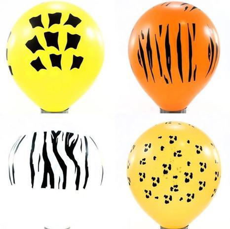 Balão Nº11 Safari Sortido c/25 - Happy Day