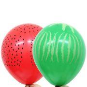Balão Nº11 Tropical Sortido c/25 - Happy Day
