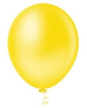 Balão Nº5 Amarelo c/50 - Happy Day
