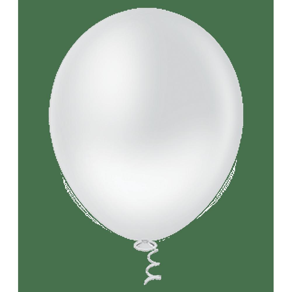 Balão Nº5 Branco c/50 - Happy Day