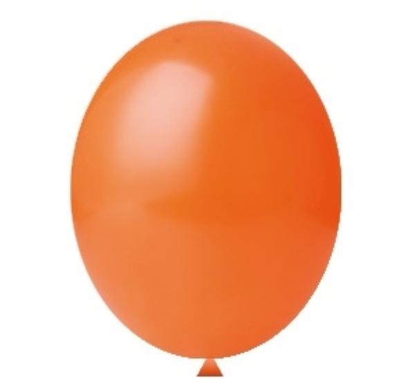 Balão Nº5 Laranja c/50 - Happy Day
