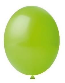 Balão Nº8 Verde Limão c/50 - Happy Day