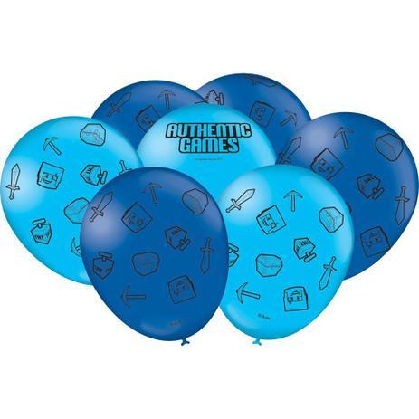 Balão Nº9 Especial Authentic Games c/25 - Festcolor