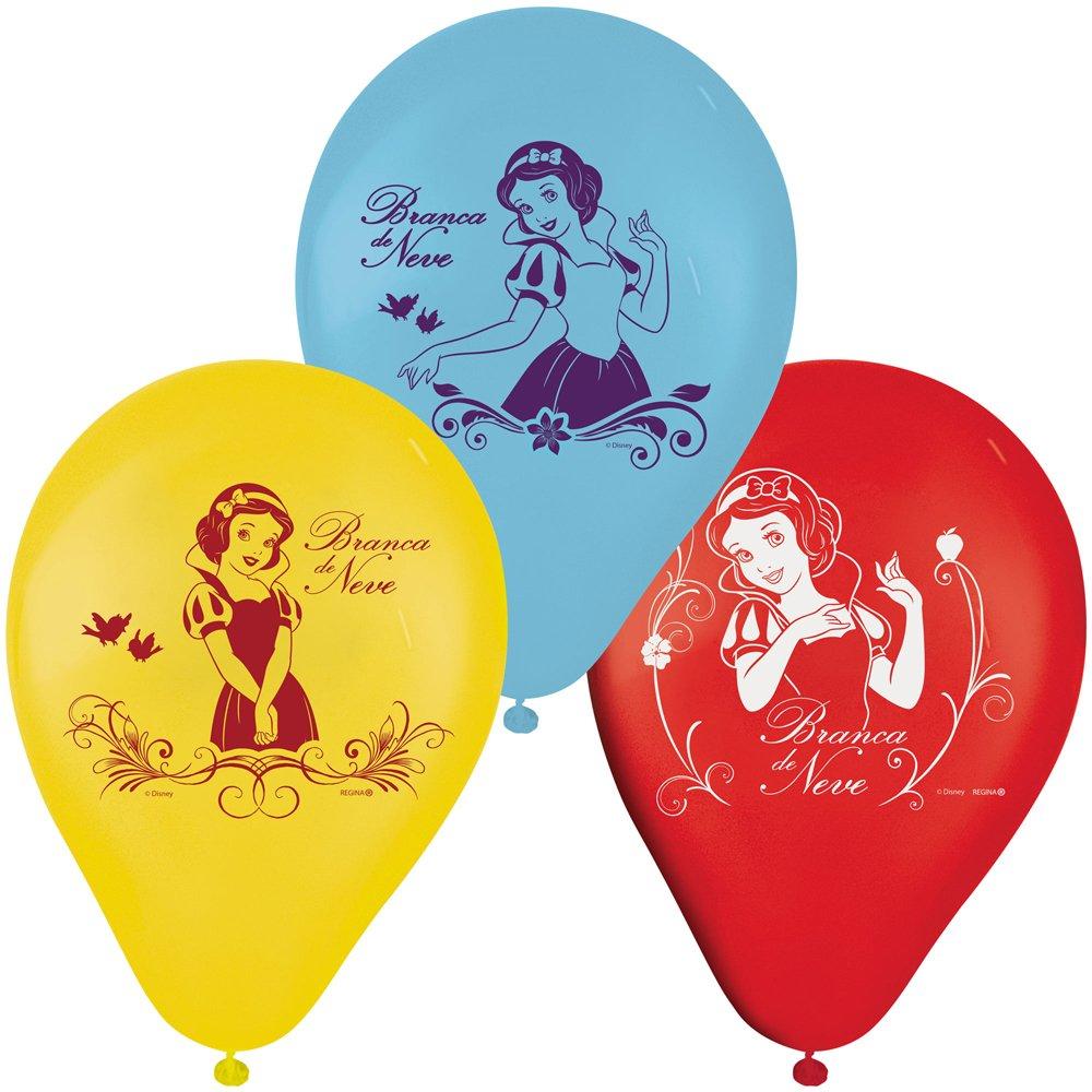 Balão Nº9 Especial Branca de Neve c/25 - Regina