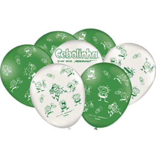 Balão Nº9 Especial Cebolinha c/25 - Festcolor
