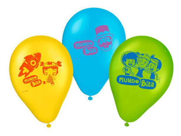 Balão Nº9 Especial Mundo Bita c/25 - Regina