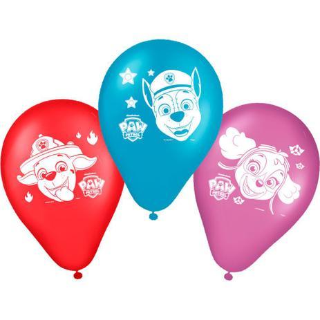 Balão Nº9 Especial Patrulha Canina c/25 - Festcolor