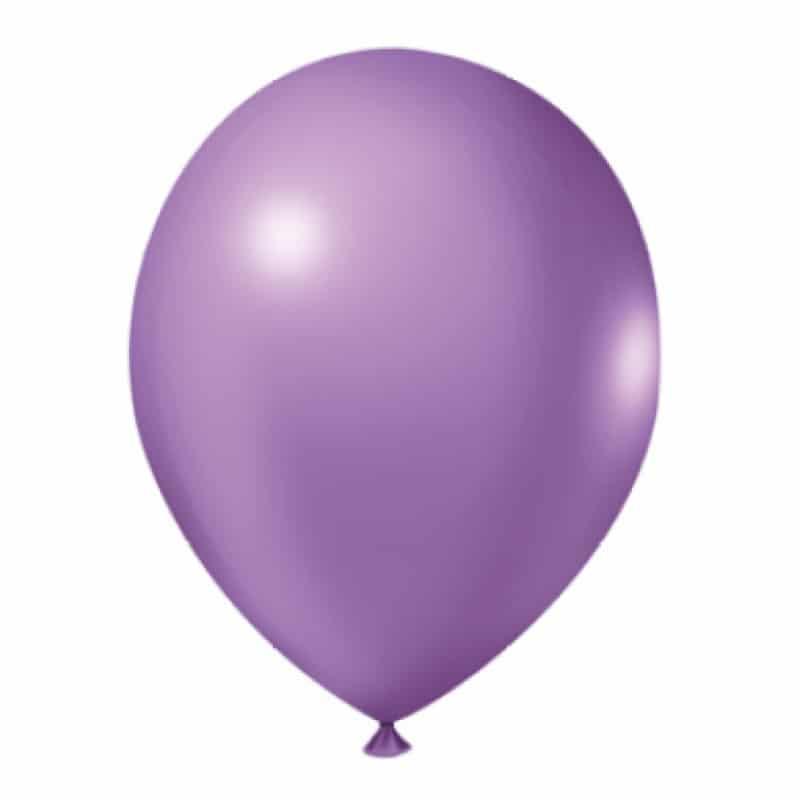 Balão Nº9 Lilás c/30 - Happy Day