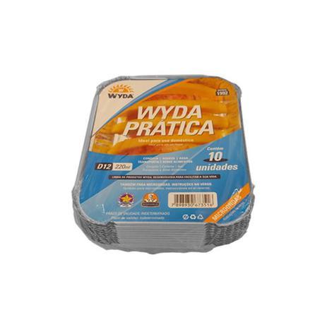 Bandeja de Alumínio D12 220ml c/10 - Wyda