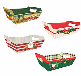 Bandeja Pequena Natal (Modelos Sortidos) - Mf Embalagens