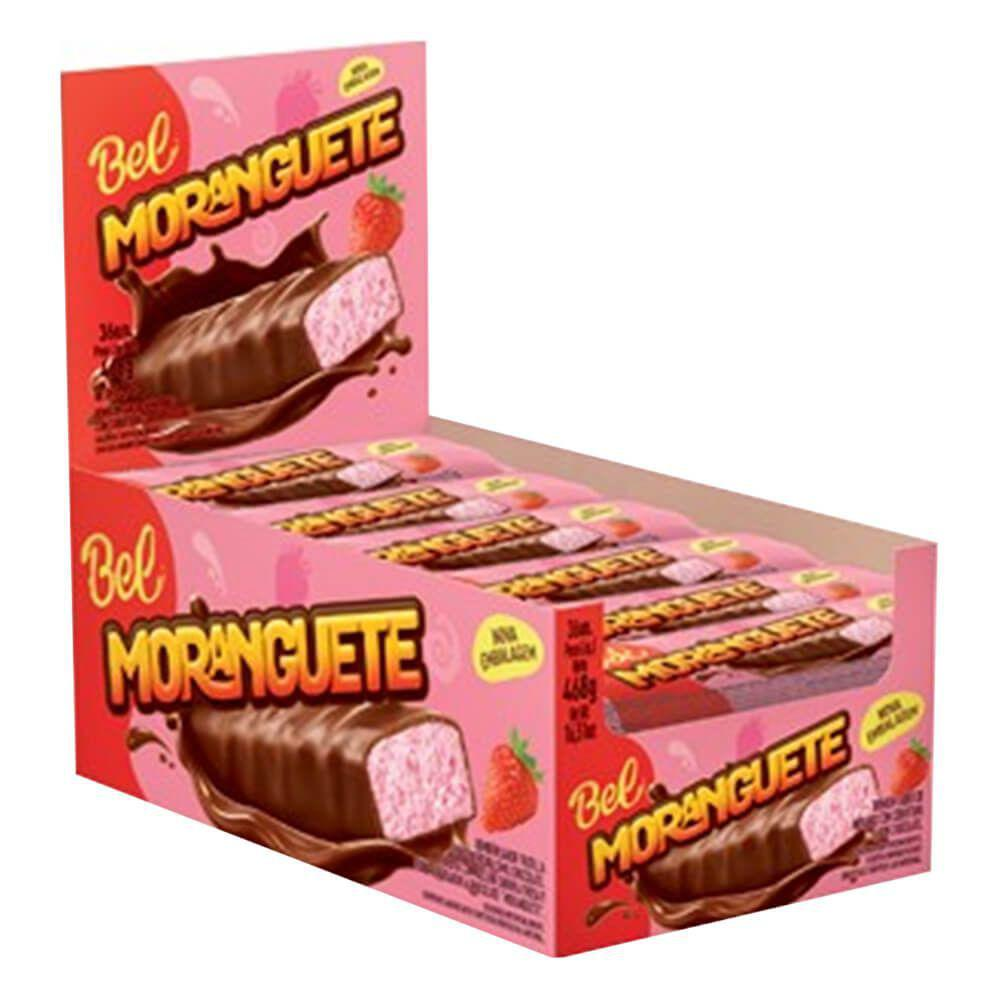 Bombom chocolate Recheado Moranguete 468g c/36- Bel