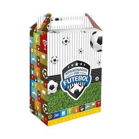 Caixa Surpresa Apaixonados Por Futebol c/8 - Festcolor