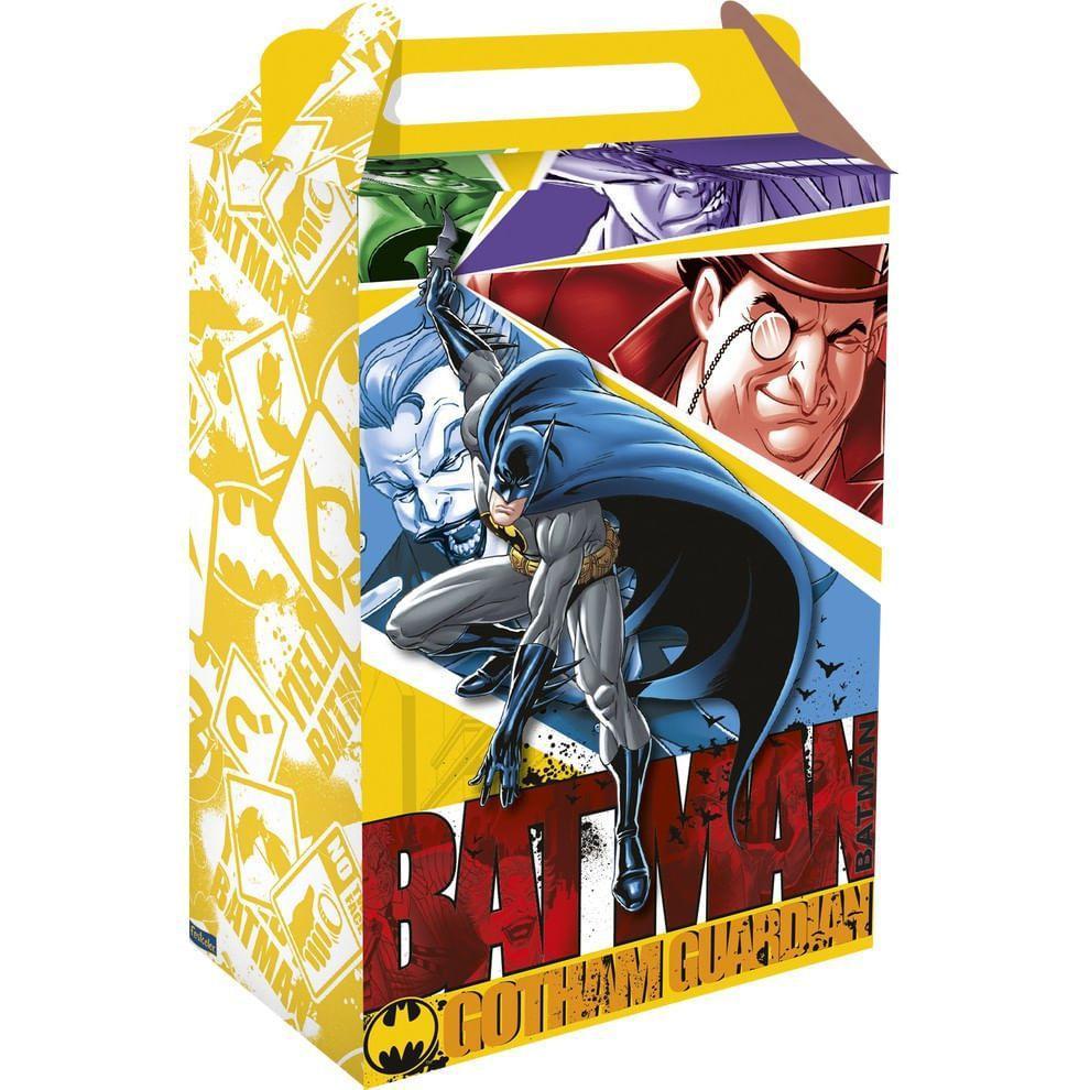 Caixa Surpresa Batman c/8 - Festcolor