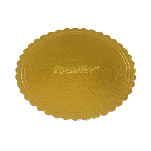 Cake Board Nº28 Dourado - Curifest