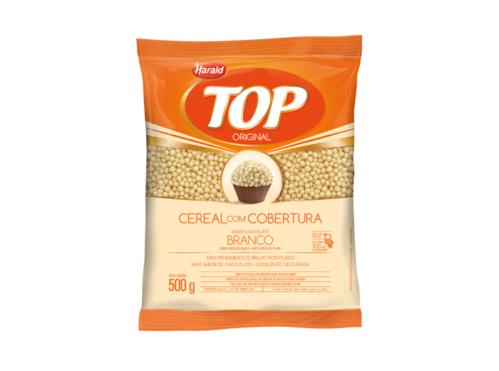 Cereal Chocolate Branco 500g - Harald