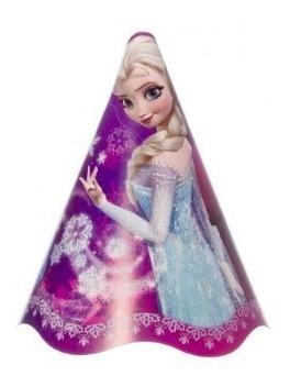 Chapéu de Aniversário Frozen c/8 - Regina