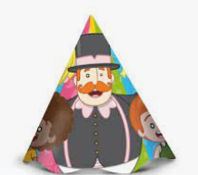 Chapéu de Aniversário Mundo Bita c/12 - Regina