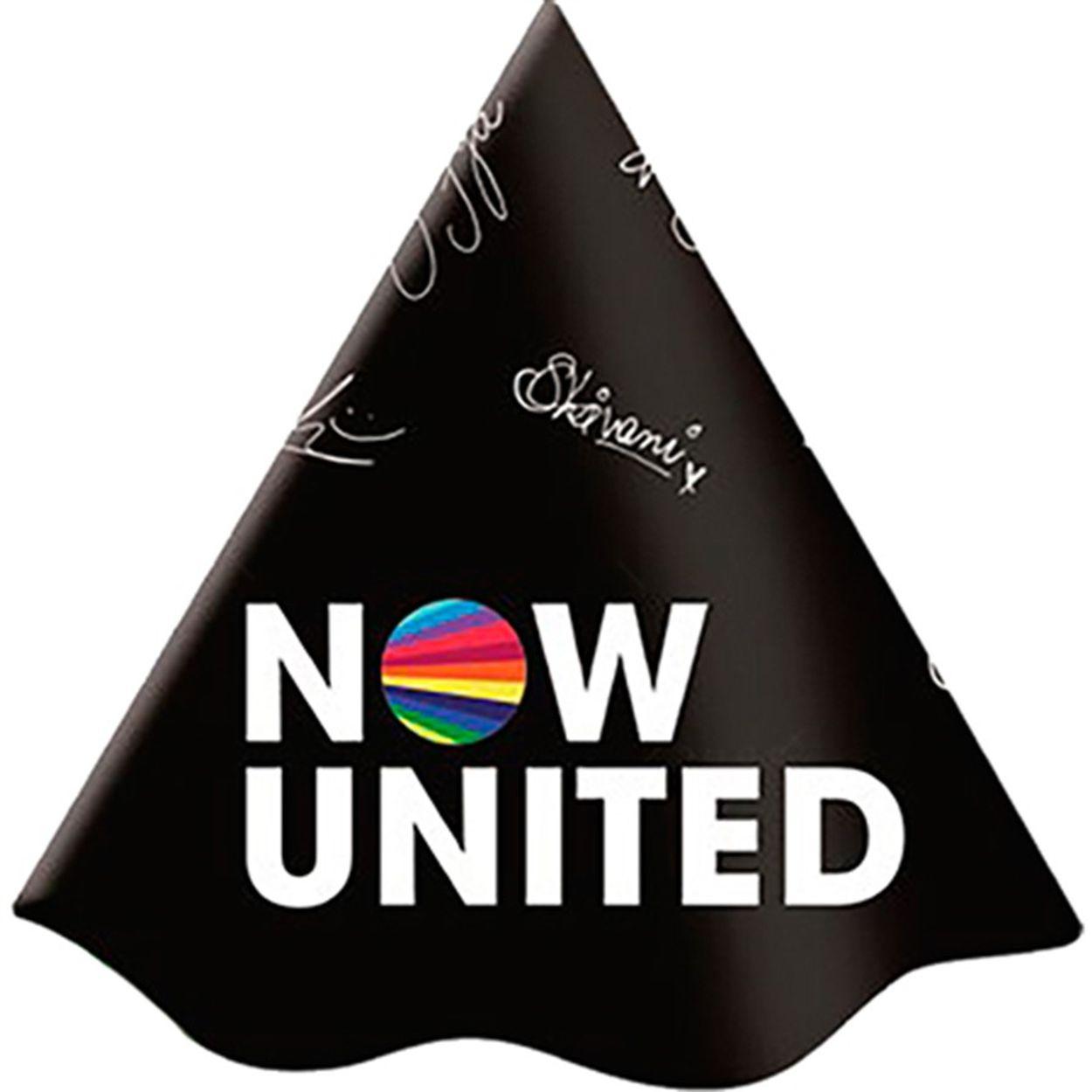 Chapéu de Aniversário Now United c/8 - Festcolor