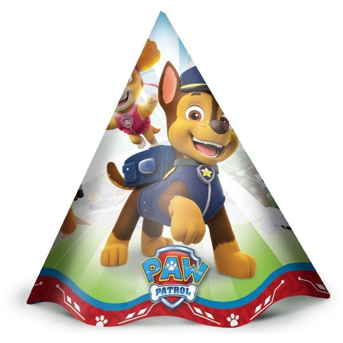 Chapéu de Aniversário Patrulha Canina c/12 - Regina