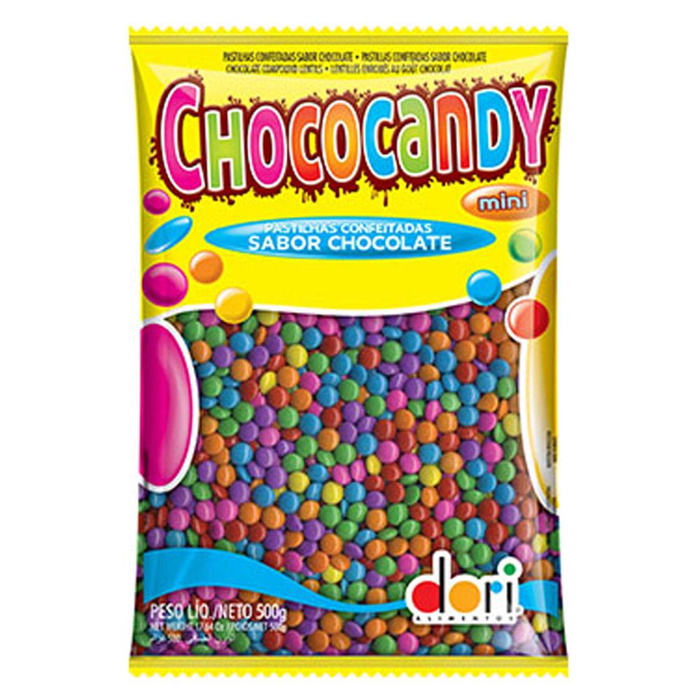 Chocolate Chococandy Confeito Colorido 500g - Dori