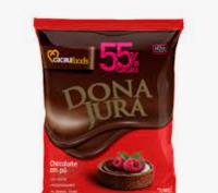 Chocolate em Pó Solúvel 55% Cacau 1,005kg - Dona Jura