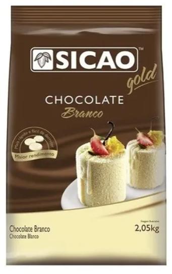 Chocolate gold ao branco sicao 2,05kg