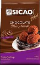 Chocolate gold meio amargo sicao 1,01kg