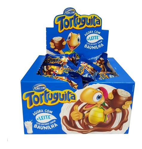 Chocolate Tortuguita Baunilha c/24 - Arcor