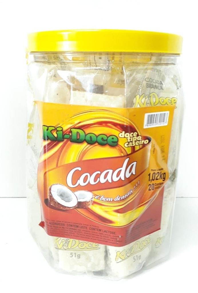 Cocada 1,020kg c/20 - Ki Doce