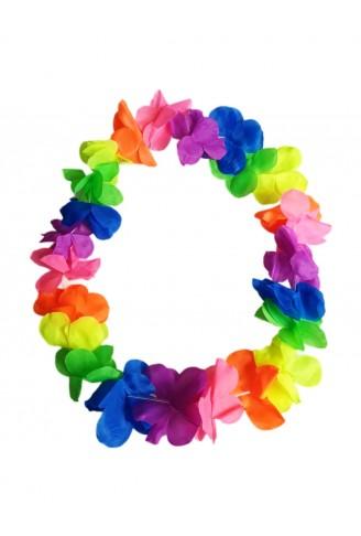 Colar Havaiano Color Fluorescente