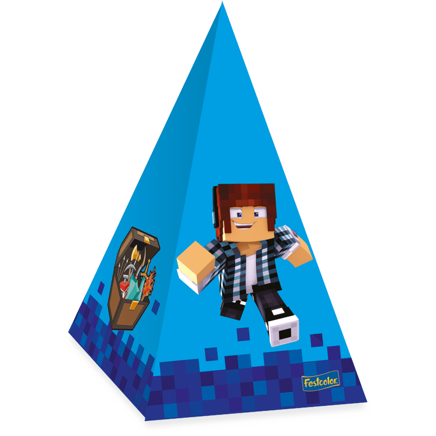 Cone Para Doces Authentic Games c/8 - Festcolor