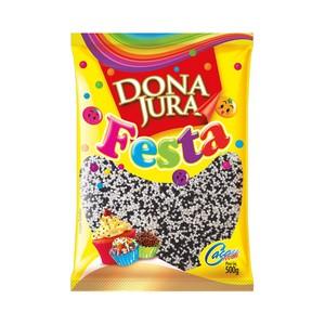 Confeito Miçanga Mesclada 500g - Dona Jura