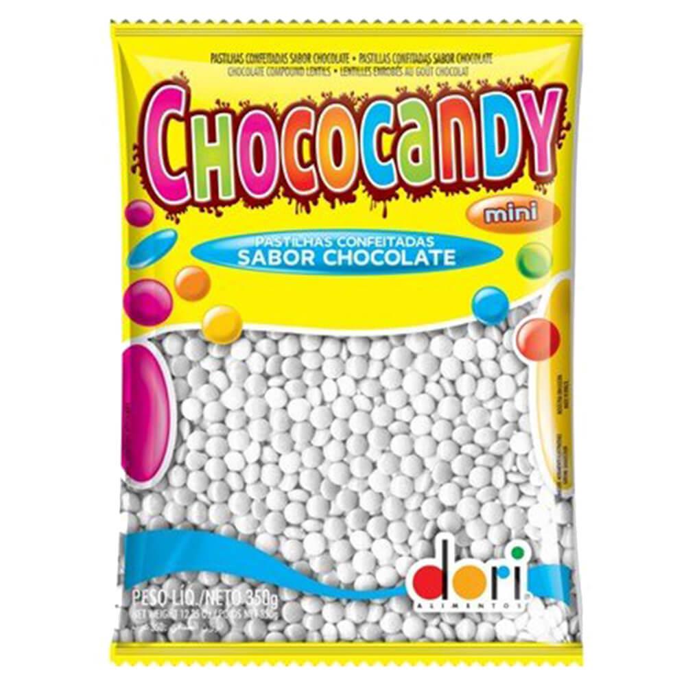 Confeitos de Chocolate Chococandy Branco 350g - Dori
