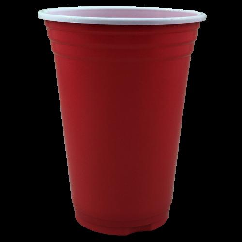 Copo Americano Vermelho 300ml c/25 - Zouppi