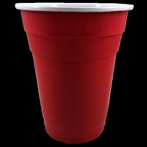 Copo Americano Vermelho 500ml c/20 - Zouppi