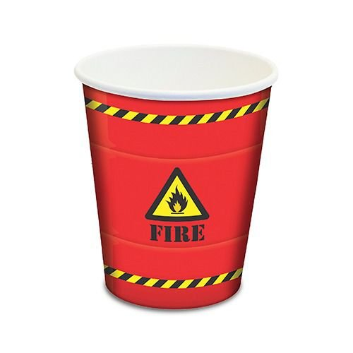 Copo de Papel Free Fire 180ml c/8 - Junco