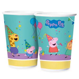 Copo de Papel Peppa Pig 180ml c/12 - Regina