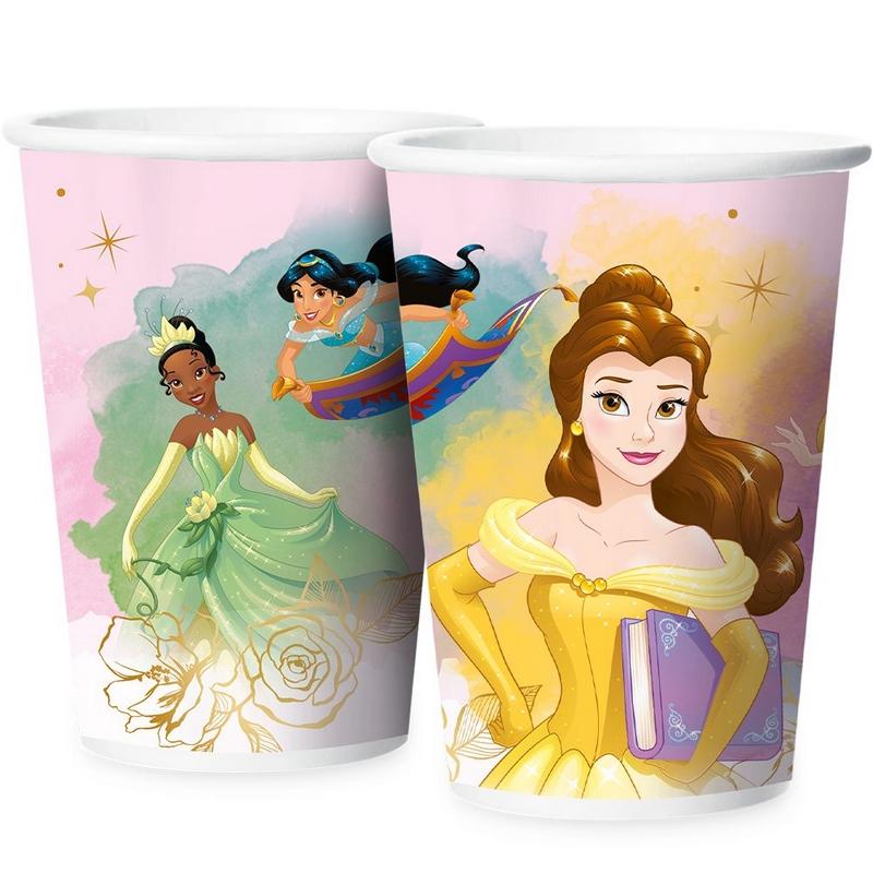 Copo de Papel Princesas 180ml c/12 - Regina