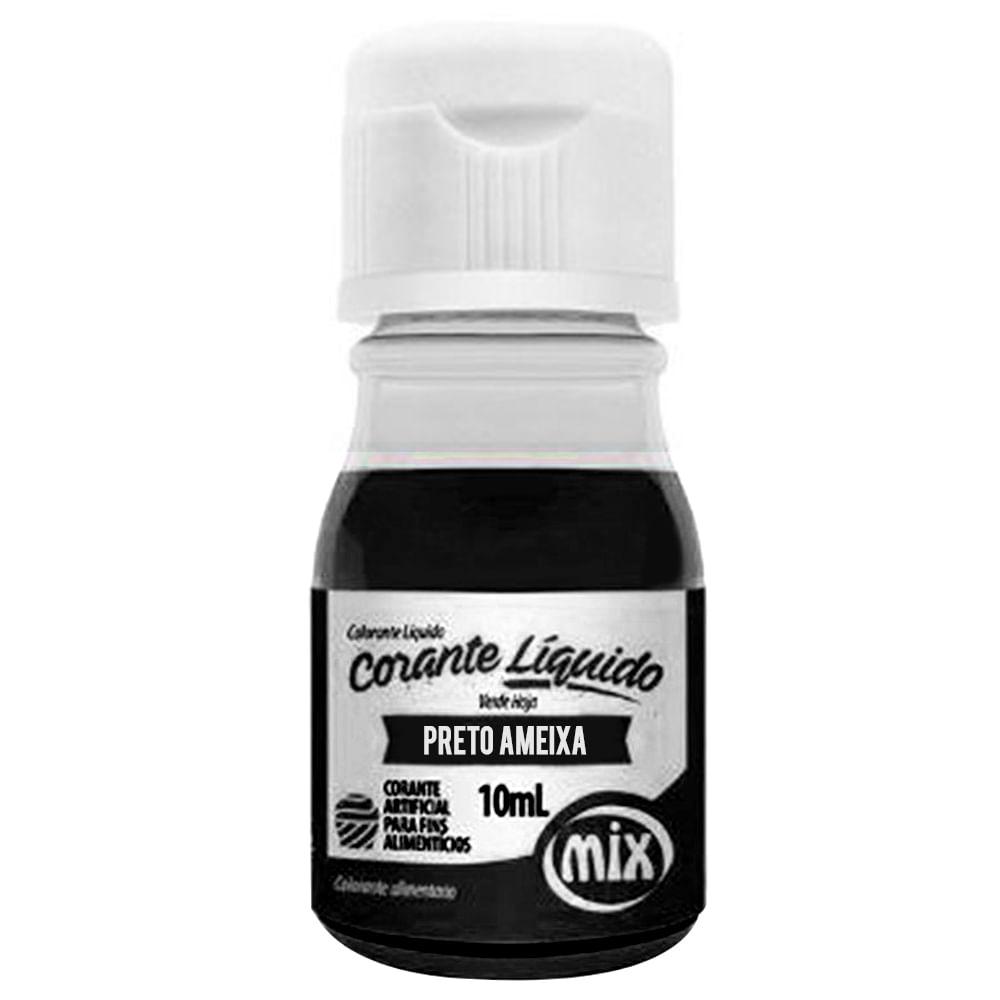 Corante Líquido Preto Ameixa 10ml - Mix