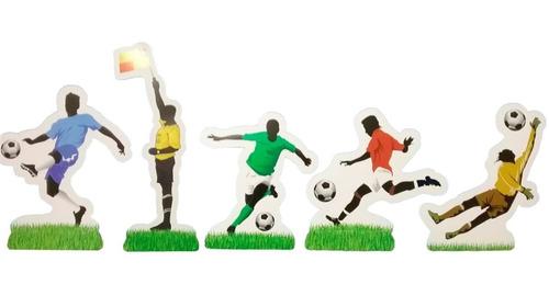 Decoração de Mesa Apaixonados Por Futebol c/8 - Festcolor